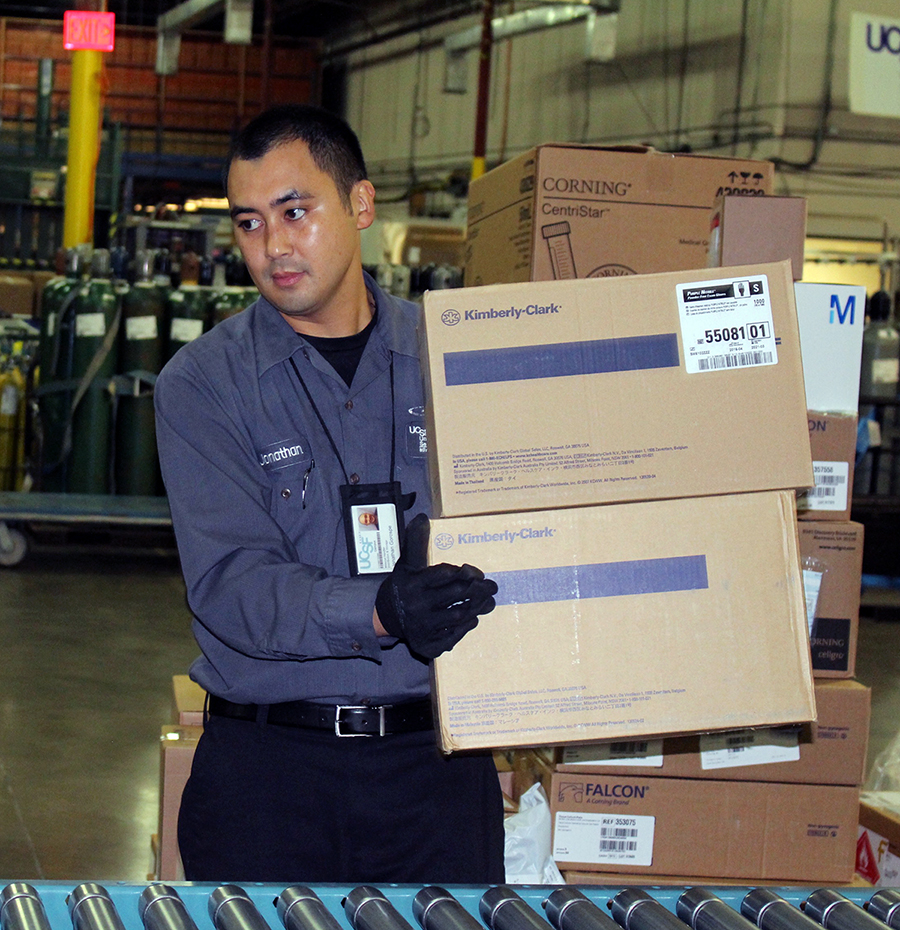 UCSF Package Delivery Program | Supply Chain Management